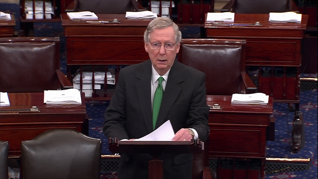 "McConnell on ""Washington Democrats"""