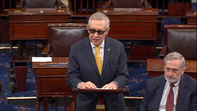 Reid on Planned Parenthood, Approps